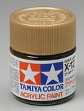 Tamiya 81012 Acrylic X-12 Gold Leaf 23ml Bottle