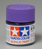 Tamiya 81016 Acrylic X-16 Purple 23ml Bottle