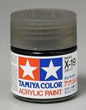 Tamiya 81019 Acrylic X-19 Smoke 23ml Bottle