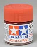 TAMIYA 81027 Acrylic X-27 Clear Red
