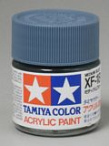 Tamiya 81318 Acrylic XF-18 Medium Blue