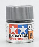 Tamiya 81511 Acrylic Mini X-11Chrome Silver