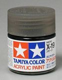 Tamiya 81519 Acrylic Mini X-19 Smoke