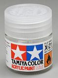 Tamiya 81521 Acrylic Mini X-21 Flat Base