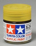 Tamiya 81524 Acrylic Mini X-24 Clear Yellow