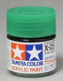 Tamiya 81525 Acrylic Mini X-25 Clear Green