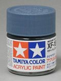 Tamiya 81718 Acrylic Mini XF-18 Medium Blue