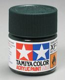 Tamiya 81770 Acrylic Mini XF-70 Dark Green2