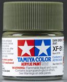 Tamiya 81781 Acrylic Mini XF-81 Dark Green