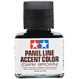 Tamiya 87140 Panel Line Accent Color Dark Brown