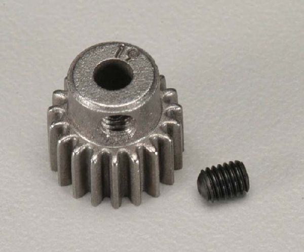 Traxxas 2419 Pinion Gear 48P 19T w-Set Screw Steel