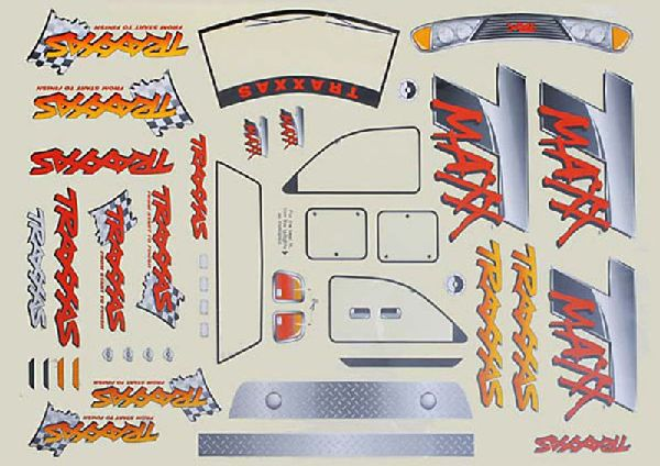 Traxxas 4913 Decal Sheet T-Maxx
