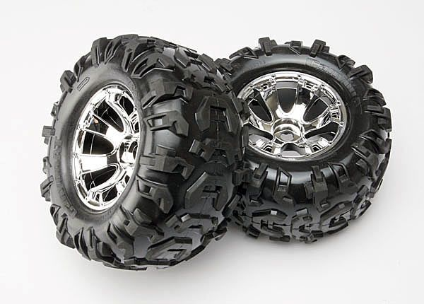Traxxas 5673 Canyon Tires-Geode Wheels Summit 2