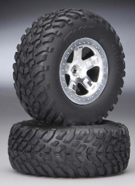 Traxxas 5873 Tires-Wheels Assmbld Re Slash 2