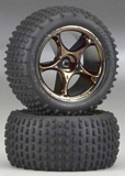 Traxxas 2470A Tires and Wheels Assembled 2
