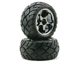 Traxxas 2478A Tires and Wheels Assembled Bandit Rear 2