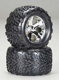 Traxxas 4171 Tires and Wheels Assembled 28 2
