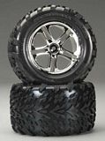 Traxxas 5174 Talon Tires Onss Chrome T-Maxx-Revo 2