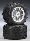 Traxxas 5174A Talon 38 Tires On 5-Spoke T-Maxx-Revo 2