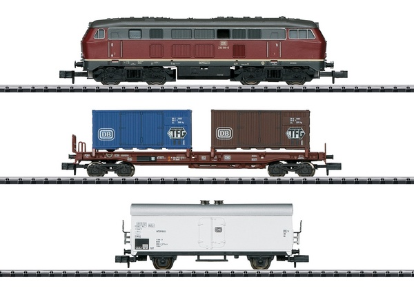 MiniTrix 11146 Freight Train Starter Set