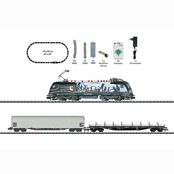 Minitrix 11152 Freight Train Starter Set