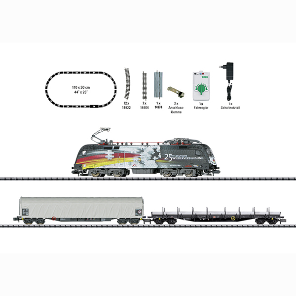 Minitrix 11154 Freight Train Starter Set