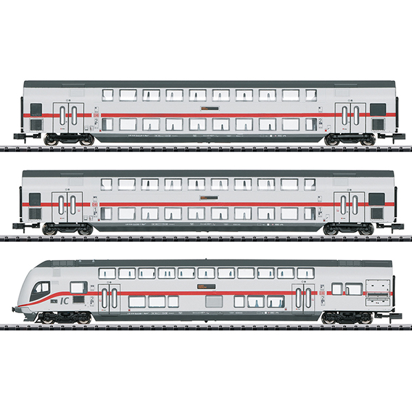 Minitrix 15385 IC 2 Bi-Level Car Set