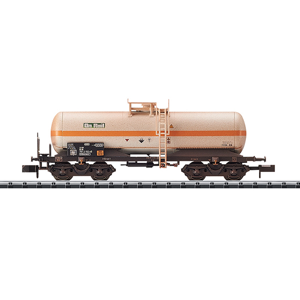 MiniTrix 15586 Chlorine Gas Tank Car