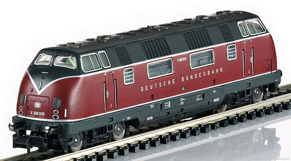 Minitrix 16224 Digital DB Class V 200 Diesel Locomotive