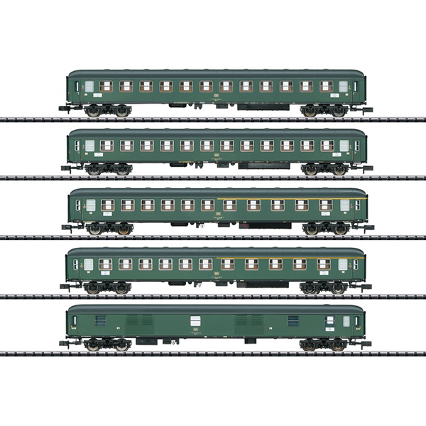 MiniTrix 15219 D 360 Express Train Passenger Car Set