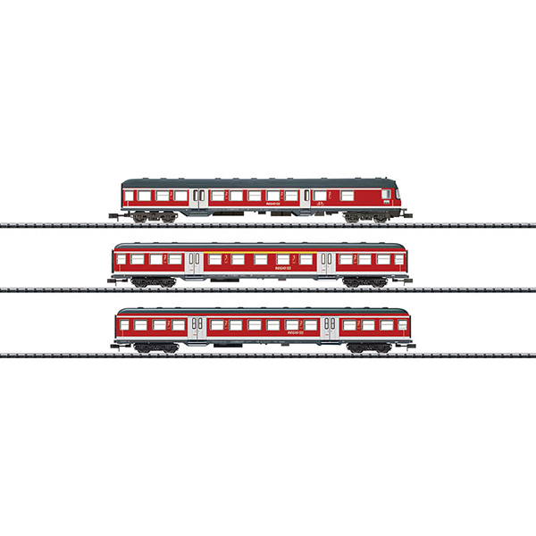MiniTrix 15306 Regional Express Passenger Car Set