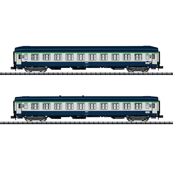 MiniTrix 15373 Orient Express Express Train Passenger Car Set