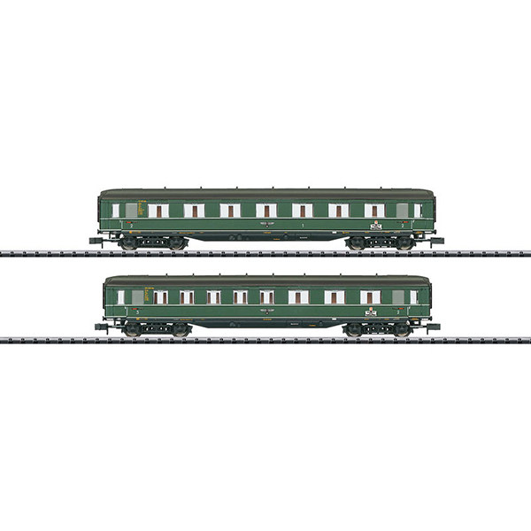 MiniTrix 15802 Berlin-Hamburg Express Train Passenger Car Set