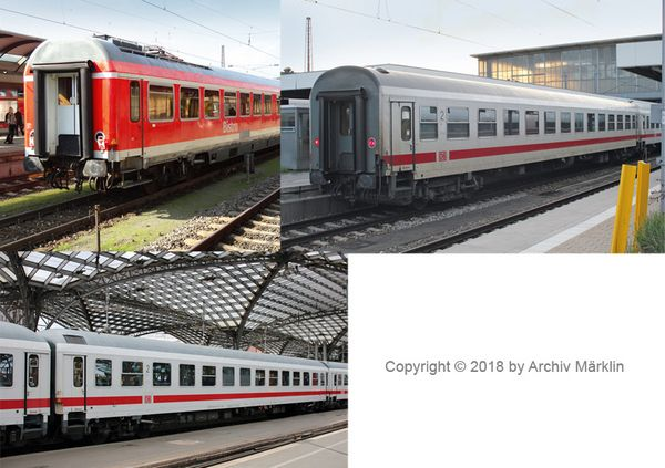 MiniTrix 15887 Passenger Car Set