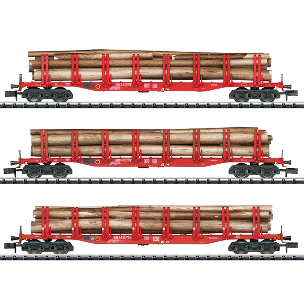 MiniTrix 15930 Set with 3 Stake Cars