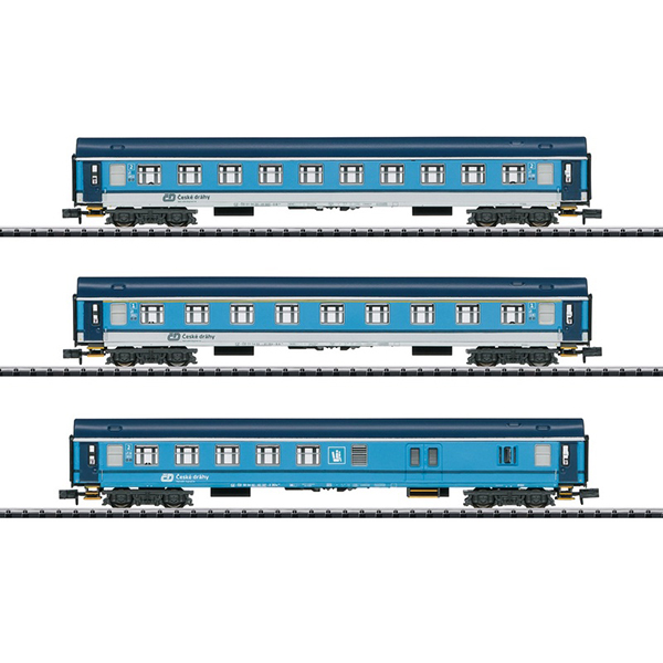 MiniTrix 15935 Type UIC Y Express Train Passenger Car Set