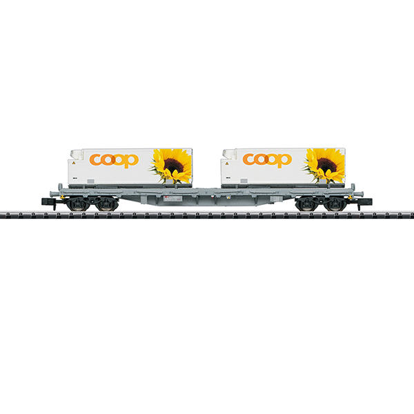 MiniTrix 15937 Flat Car with Containers
