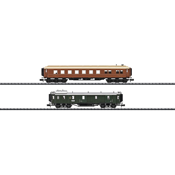 MiniTrix 15967 Bavarian Express Train Around 1925 Add On Car Set