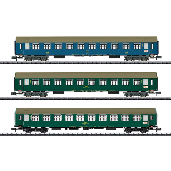 MiniTrix 15997 Baltic-Orient Express Express Train Passenger Car Set