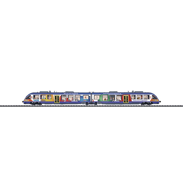 Minitrix 16481 LINT Diesel Powered Rail Car Train