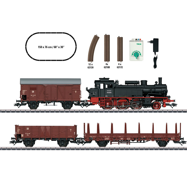 Trix 21532 DR Era III Freight Train Digital Starter Set 230 Volts