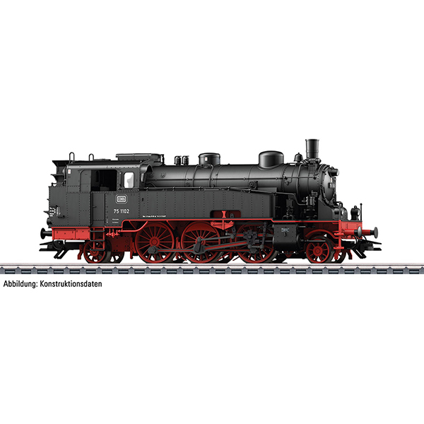 Trix 22793 Dgtl DB cl 75.4 General Purpose Steam Tank Locomotive
