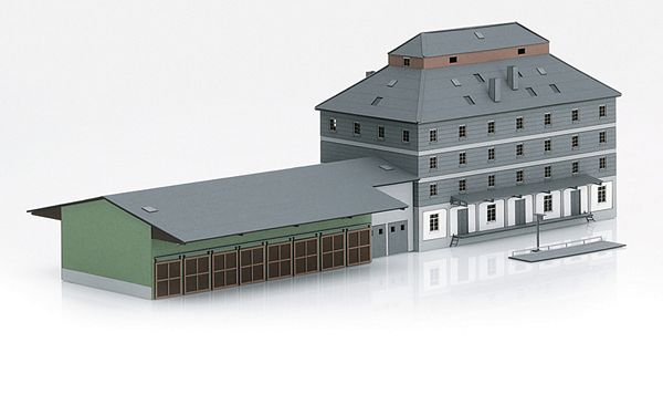 MiniTrix 66324 Kit for the Raiffeisen Warehouse with Market