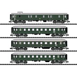 MiniTrix 15015 Limited Stop Fast Train Car Set