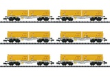 MiniTrix 15075 Container Flat Car Set
