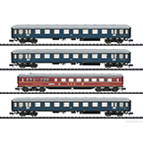 Minitrix 15132 DB MERKUR Express Train Passenger 4-Car Set Era III