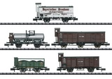 MiniTrix 15284 Palatinate Freight Car Set