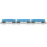 MiniTrix 15994 Wood Chips Transport Freight Car Set