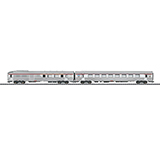 Trix 23493 Set with 2 PBA TEE Express Train Passenger Cars