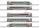 Trix 25976 Railcar Train ICE 4 Series 412-812 with Green Stripe